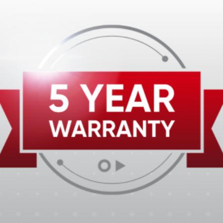 Hikvision 5 Year Warranty